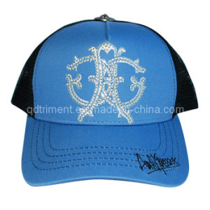 5 Panel Embroidery Snapback Mesh Baseball Trucker Hat (TRT024) pictures & photos