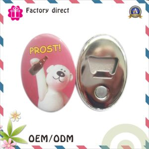 Promotional Cheap Custom Bottle Opener with Magnet pictures & photos
