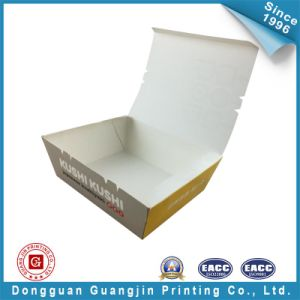 Custom Design Printed Food Paper Tray (GJ-tray001) pictures & photos