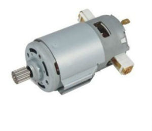 Household Exhaust Fan DC 3000-12000pm PMDC Worm Gear Electric Motor pictures & photos