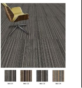 PP Commercial Carpet Tiles with Eco Bitumen Backing pictures & photos