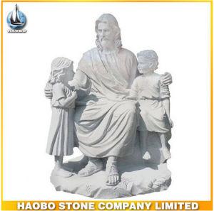 Haobo Granite Jesus Statue pictures & photos