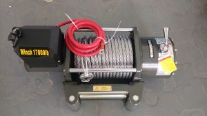 4WD Electrical Winch 17000lbs 12VDC High Performance pictures & photos