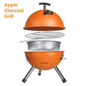 Food Grade Charcoal Football BBQ Round BBQ for Camping pictures & photos
