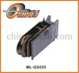 Aluminum Alloy Bracket with Metal Pulley Bearing (ML-GS025) pictures & photos