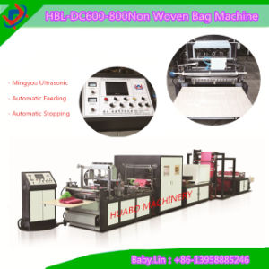 2015 New Nonwoven Bag Making Machine pictures & photos