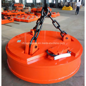 Lifting Electromagnet of High Temperature for Overhead Crane pictures & photos