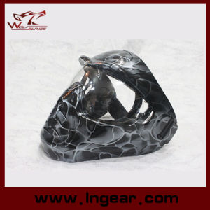 Mj-01 Airsoft Tactical Mask Kryptek Full Face Alien Mask pictures & photos