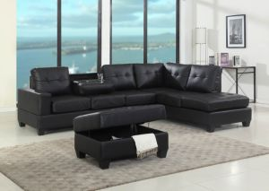 Sectional Sofa with PU Material pictures & photos