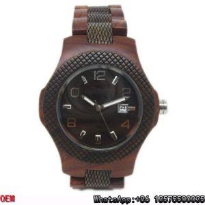 Top-Quality Wooden Watch Quartz Watch Hl28 pictures & photos