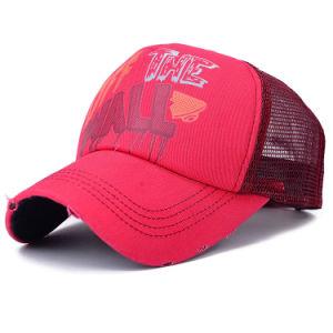 Lady Fashion Cotton Twill Nylon Mesh Baseball Cap (YKY3096) pictures & photos