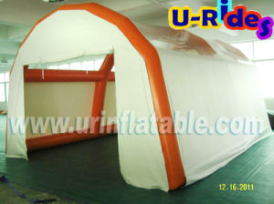 Sealed Water Proof inflatable spray booth for car wash pictures & photos