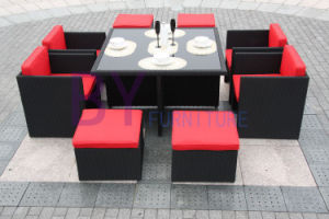 PE Rattan Dining Set Table Set Home Furniture pictures & photos