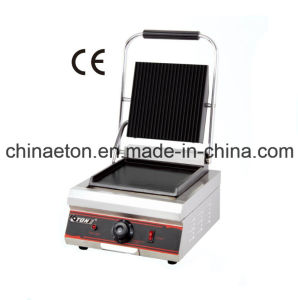 Electric Single Contact Grill Single with Flat+Grooved (ET-YP-1A4) pictures & photos