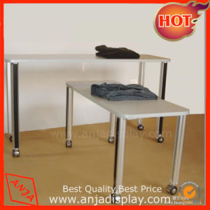 Metal Display Table for Clothes pictures & photos