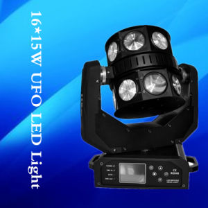 High Power 16*12W LED Moving Head Beam Scanner Light Fot Disco pictures & photos