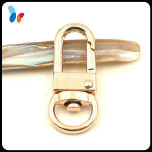Gold D Ring Snap Swivel Hook for Key pictures & photos