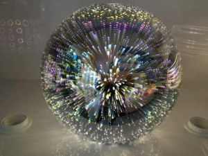 Round 3D Glass Hanging Lamp Lighting in 3 Different Sizes for restaurant / Dining Room pictures & photos