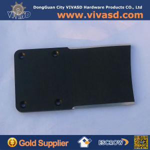 CNC Machined License Plates Billet Parts with Black Anodize pictures & photos