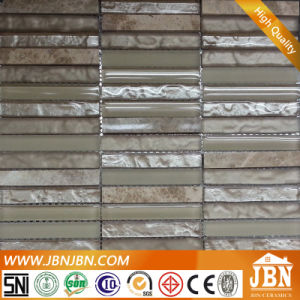 Villa Wall Decoaration Silver Glass and Cream Marfil Mosaic (M859001) pictures & photos