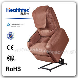 Popular Fabric Elderly Lift Chair (D01-B) pictures & photos