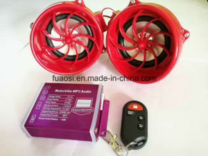 Waterproof Decoration Motorcycle Push Button MP3 with 3.5 Inch Speaker