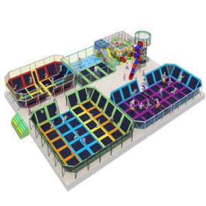 2017 Amusement Park Indoor Playground Trampoline pictures & photos