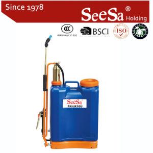 16L Agricultural Brass Cylinder Knapsack Manual Hand Pressure Backpack Sprayer (SX-LK16U) pictures & photos