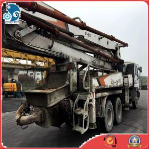 37m Used Sany Concrete Cement Pump Truck (6*4 Isuzu chassis) pictures & photos