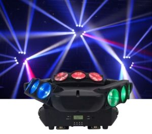 Adj Kaos 9 Eyes Pixel Triangles Spider LED Beam Moving Head Light pictures & photos