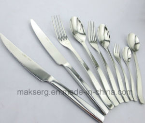 Stainless Steel 304 Cutlery Tableware Set Shiny Finish pictures & photos