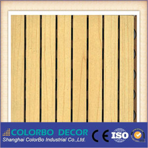CE-Mark Products Slots Wooden Timber Decorative Wall Acoustic Panel pictures & photos