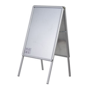 Aluminum Poster Stand Snap Poster Frame Display Stand pictures & photos