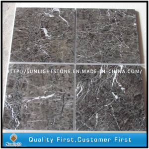 Chinese Hang Grey Marble Stone Flooring for Kitchen and Bathroom pictures & photos