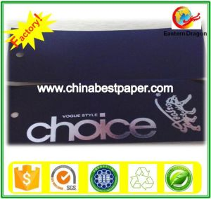 Uncoated 110g Black Cardboard Paper pictures & photos