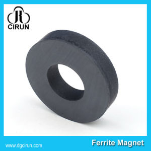 Y30 Ring Sintered Black Hard Strong Ferrite Magnet pictures & photos