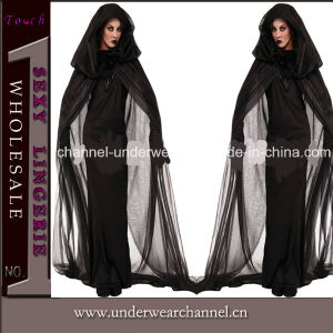 Plus Size Adult Evil Adult Vampire Party Halloween Costume (TLQZ1004) pictures & photos