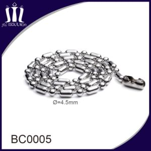 High Quality Fine Metal Beads Chain 4.5mm pictures & photos