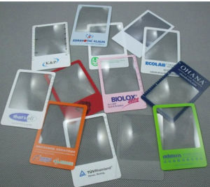 Factory Supply Business Card Magnifier (85*55mm) pictures & photos
