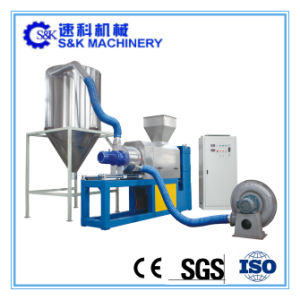 300kg/H Plastic PP PE Film Squeezing Pelletizing Machine pictures & photos