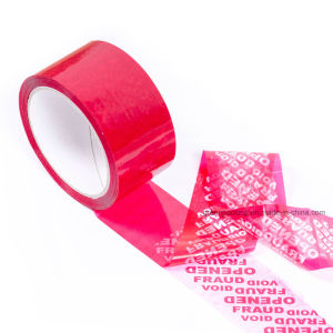 High Quality Plastic Security Tape pictures & photos