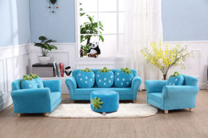 Hot Sale Straberry Home Sofa Set/ Kids Ottoman pictures & photos