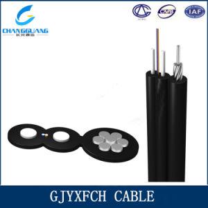 G657A Fiber GJYXFCH 1, 2, 4 Core Fiber Optical Cable with Messenger 1km Price pictures & photos