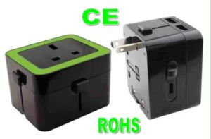 New Design CE Approved UK Type Travel Adapter with USB pictures & photos