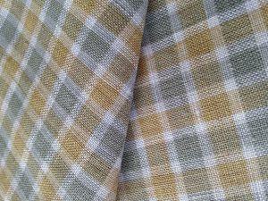 Yarn Dyed Linen Blend Fabric for Garment Cloth Strip Linen Chamber Linen