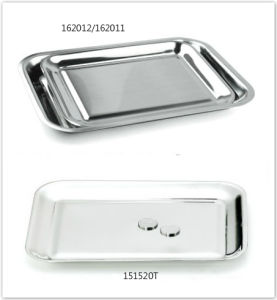 Retangular Stainless Steel Tips Tray for Hotel Cafe & Restaurant (151520T/162012/162011) pictures & photos