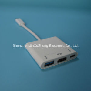 Hot USB3.1 C Type Combo White for Mobilephone and PC