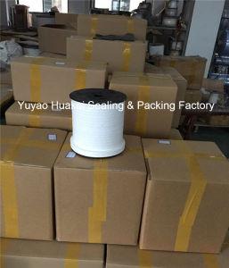 High Speed Pump Sealing Filler Corrosion Resistant White PTFE/Teflon Packing