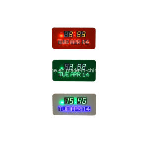 Electronic LED Digital Wall Calendar Clock (JDL-512AR) pictures & photos