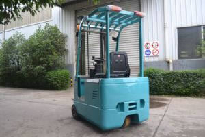 3-Wheel Countebalance Forklift Truck Capacity 1.0t to 1.5t pictures & photos